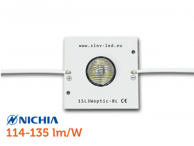 1SLN3Woptic-BL - biely modul