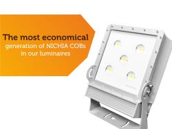 Nové COB LED diódy v našich svietidlách